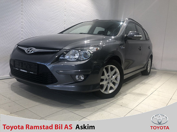 Hyundai i30 1,6 CRDI 116 Hk Premium SE Blue Drive  2010, 94200 km, kr 85000,-