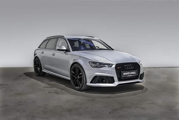 Audi RS6 PERFORMANCE/605HK/KERAMISKE/AKRAPOVIC  2016, 67000 km, kr 1089999,- image