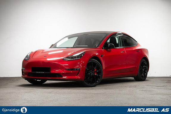 Tesla Model 3 PERFORMANCE`RESERVERT`  2019, 12000 km, kr 499999,- image