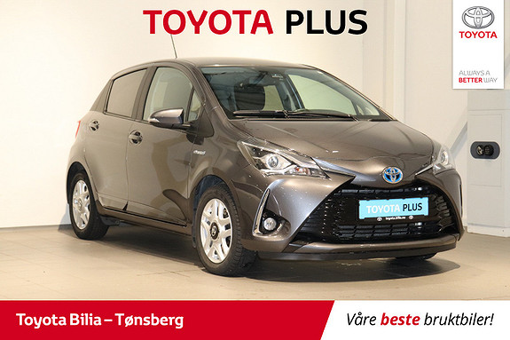 Toyota Yaris 1,5 Hybrid Active+ e-CVT aut  2018, 43900 km, kr 179000,-