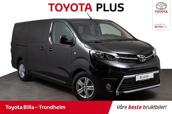 Toyota Proace Lang 2,0D 177 Executive Family aut , 8.seter,  2019, 30000 km, kr 649000,-