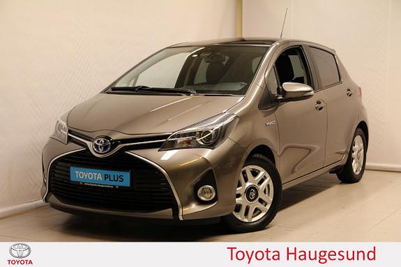 Toyota Yaris 1,5 Hybrid Style e-CVT  2016, 19537 km, kr 179000,-