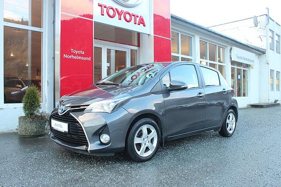 Toyota Yaris 1,5 Hybrid e-CVT Active S, 1 EIGAR, UNDERSTELLSBEHANDLA  2016, 43500 km, kr 159900,-