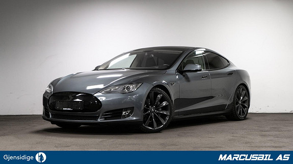 Tesla Model S P85 PANO/HIFI/LUFT/21/Utvidet garanti  2014, 126200 km, kr 329999,- image