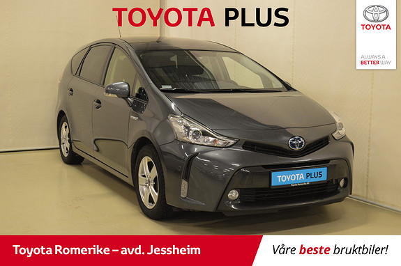 Toyota Prius+ Seven 1,8 VVT-i Hybrid Premium Glasstak, bruktbilkampanje  2016, 79163 km, kr 249000,-