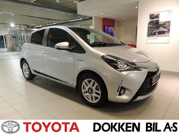 Toyota Yaris 1,5 Hybrid Active+ e-CVT aut  2018, 36700 km, kr 189000,-