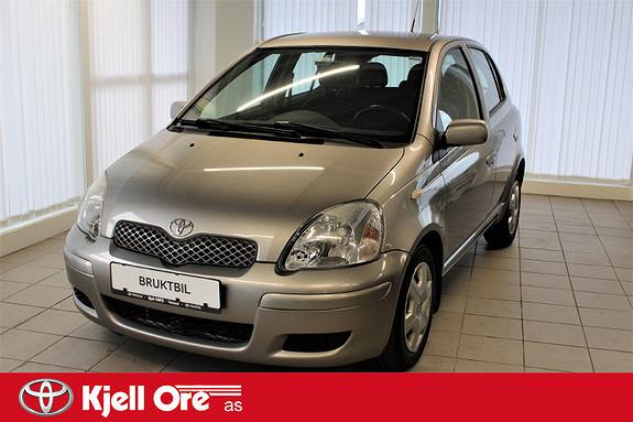 Toyota Yaris 1,3 Sol aut m/ avt. hengerfeste  2005, 133848 km, kr 39000,-