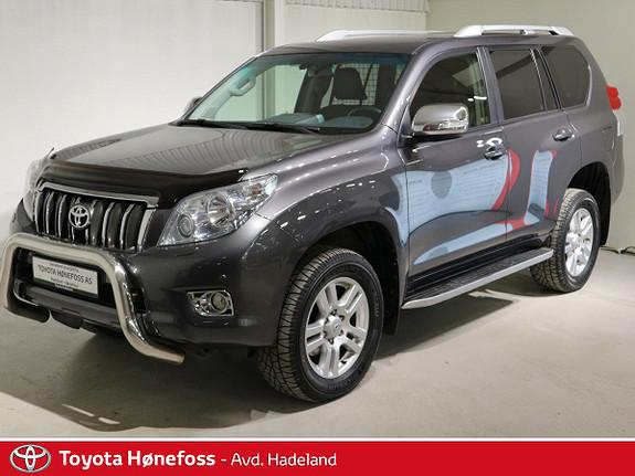 Toyota Land Cruiser 3,0 VX 190 HK 5seter Personbil Skinn Navi  2012, 182500 km, kr 429000,-