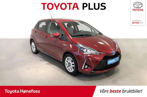 Toyota Yaris 1,5 Hybrid Active+ e-CVT aut Navi Ryggekamera  2018, 44790 km, kr 179000,-
