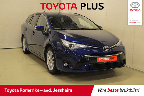 Toyota Avensis Touring Sports 1,8 Active Style M-drive 7S 1 eier,  2016, 38324 km, kr 259000,-