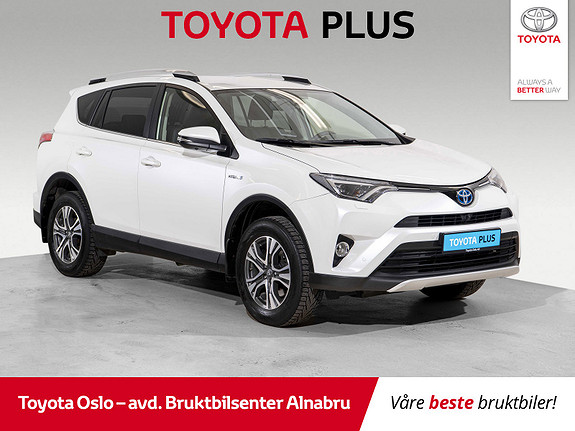 Toyota RAV4 Hybrid AWD Executive Bruktbilkampanje!  2016, 58364 km, kr 364900,-