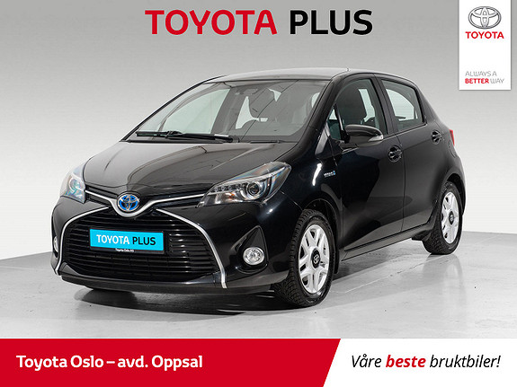 Toyota Yaris 1,5 Hybrid Active S e-CVT Brukbilkampanje  2016, 43978 km, kr 154900,-