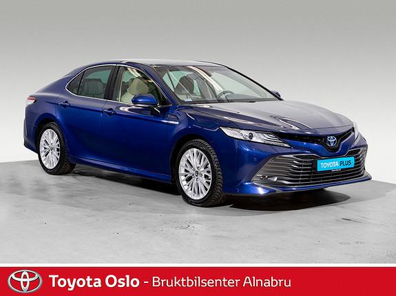 Toyota Camry Hybrid Platinum Bruktbilkampanje!  2019, 13468 km, kr 459900,-