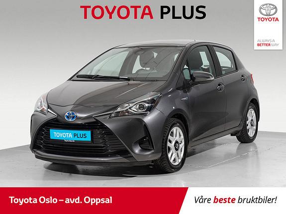 Toyota Yaris 1,5 Hybrid Active Go e-CVT aut Bruktkampanje  2018, 28400 km, kr 184900,-