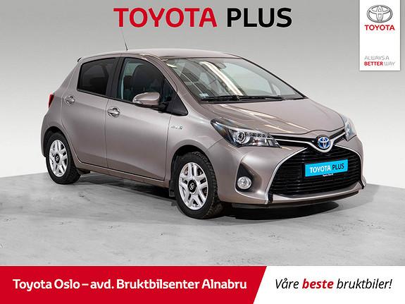Toyota Yaris 1,5 Hybrid Style e-CVT Bruktbilkampanje!  2015, 40061 km, kr 159900,-