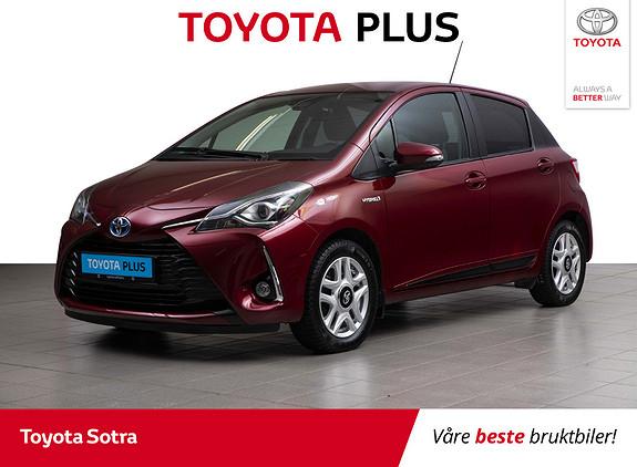 Toyota Yaris 1,5 Hybrid Active+ e-CVT aut  2018, 47811 km, kr 209000,-