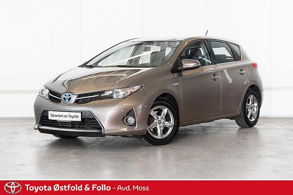 Toyota Auris 1,8 Hybrid E-CVT Active / P. SENSORER / CRUISE / BT  2013, 108300 km, kr 138000,-