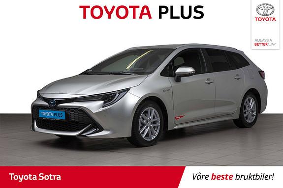 Toyota Corolla 1,8 Hybrid Touring Sports e-CVT Active Tech  2019, 21514 km, kr 345000,-