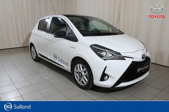 Toyota Yaris 1,5 Hybrid GR Sport e-CVT aut Navi, DAB+, Ryggekamera  2019, 3100 km, kr 249000,-