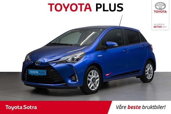 Toyota Yaris 1,5 Hybrid Active+ e-CVT aut  2018, 49138 km, kr 209000,-