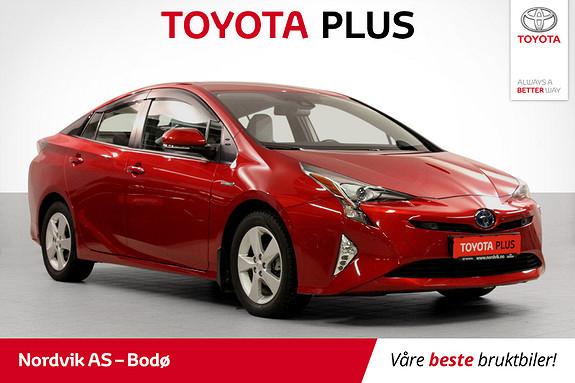 Toyota Prius 1,8 VVT-i Hybrid Executive med lekkert interiør!  2016, 18427 km, kr 229000,-