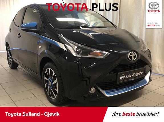 Toyota Aygo x-trend 1.0 DAB+, Ryggekamera, Cruisecontrol, lav km!!  2018, 4500 km, kr 166000,-