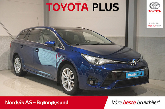 Toyota Avensis Touring Sports 1,8 Active Style M-drive 7S  2015, 42 154 km, kr 250 000,-