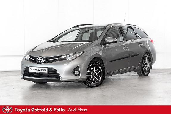 Toyota Auris Touring Sports 1,6 Style / DEFA / MANUELL / GLASSTAK  2014, 71000 km, kr 138000,-