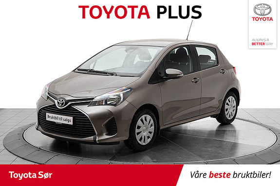 Toyota Yaris 1,0 Active S  2016, 23 188 km, kr 149 000,-