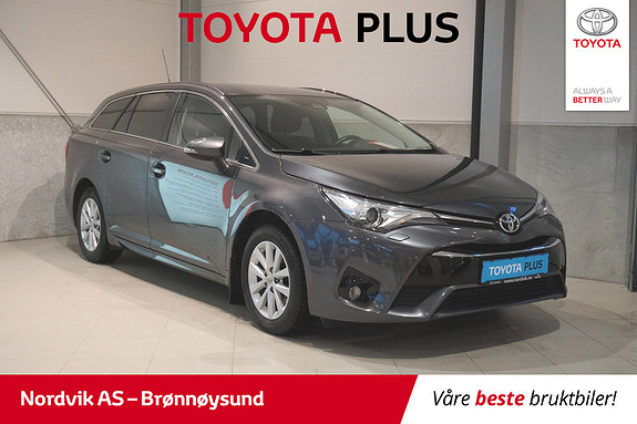 Toyota Avensis 1,6 D-4D Active  2016, 39592 km, kr 249000,-