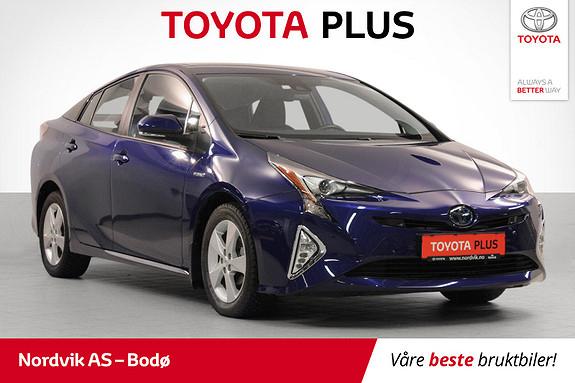 Toyota Prius 1,8 VVT-i Hybrid Executive med krompakke +++  2017, 40956 km, kr 229000,-