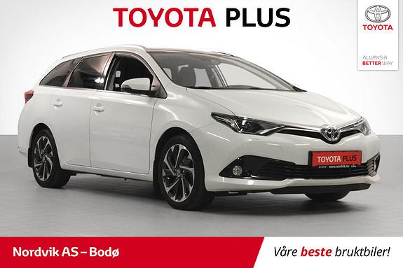 Toyota Auris 1,2 Turbo Style  2017, 25153 km, kr 219000,-