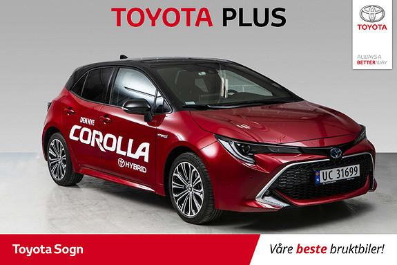 Toyota Corolla 1,8 Hybrid e-CVT Executive Bitone demobil  2019, 6000 km, kr 359000,-