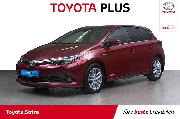 Toyota Auris 1,8 Hybrid E-CVT Active Sport  2018, 45204 km, kr 239000,-