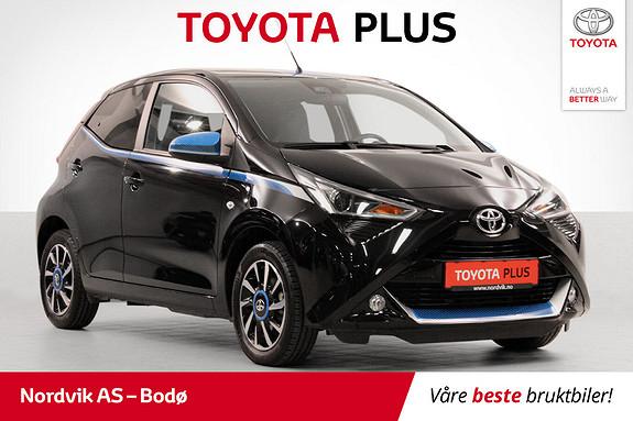 Toyota Aygo x-play+ 1.0  2018, 4963 km, kr 169000,-