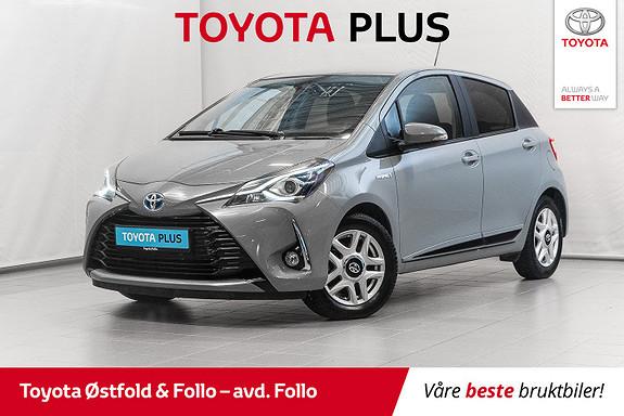 Toyota Yaris 1,5 Hybrid Active+ e-CVT aut  2018, 29290 km, kr 195000,-