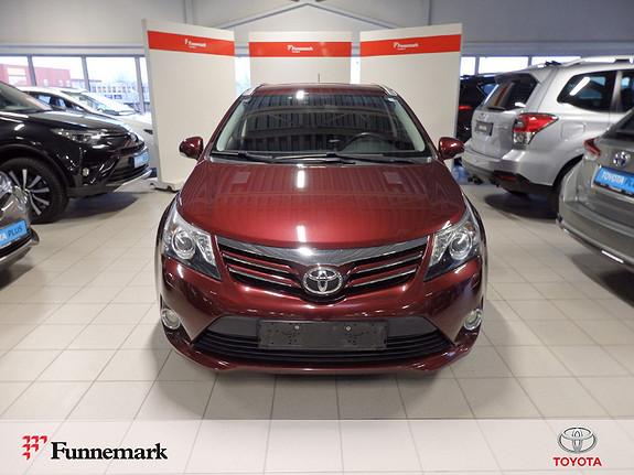 Toyota Avensis 1,8 147hk Advance  2012, 79500 km, kr 169000,-