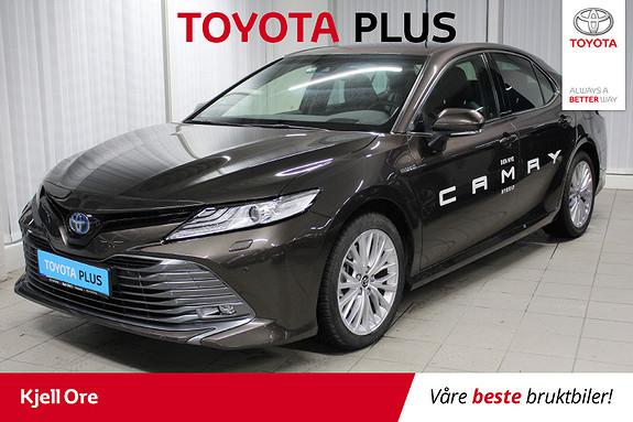 Toyota Camry Hybrid Platinum m/ tectyl, 3-sone klima, skinn ++  2019, 2350 km, kr 469000,-