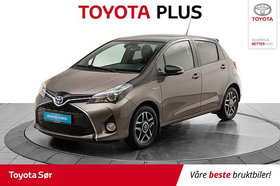 Toyota Yaris 1,5 Hybrid Bi Tone e-CVT aut  2016, 35000 km, kr 169000,-