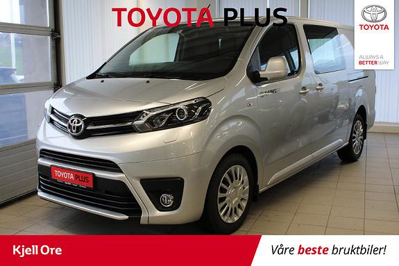 Toyota Proace 2,0 D 122 Comfort L2H1 m/ hengerfeste  2018, 13040 km, kr 289000,-