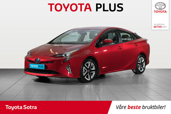 Toyota Prius 1,8 VVT-i Hybrid Executive  2016, 55030 km, kr 229000,-