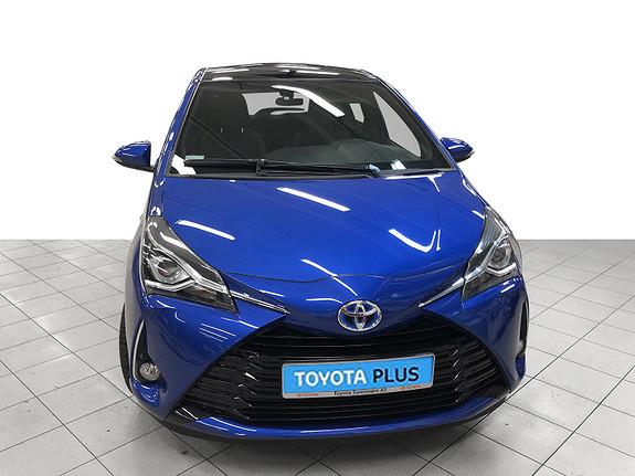 Toyota Yaris 1,5 Hybrid Style + e-CVT aut Panoramatak  2018, 37717 km, kr 209000,-