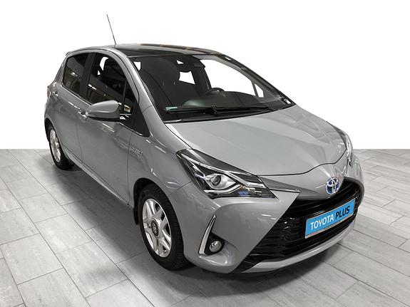 Toyota Yaris 1,5 Hybrid Style + e-CVT aut Panoramatak  2018, 35735 km, kr 203000,-