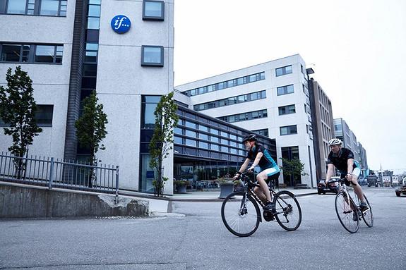 Det er enkelt å være syklist i Solheimsviken