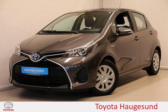 Toyota Yaris 1,5 Hybrid Active S e-CVT Navi, kamera, DAB+, Bluetooth  2015, 21559 km, kr 169000,-