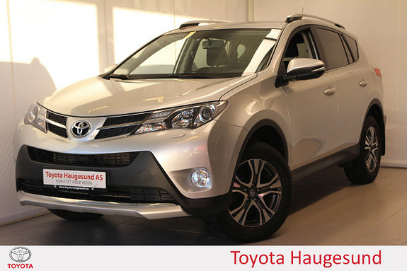 Toyota RAV4 2,0 4WD 71'N Edition CVT  Navi, DAB+, kamera, Bluetooth  2015, 32236 km, kr 329000,-