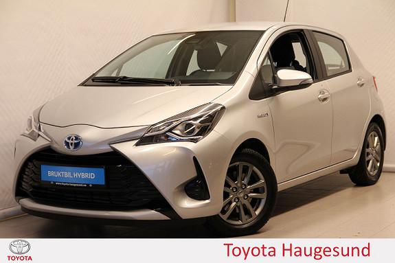 Toyota Yaris 1,5 Hybrid Active Go e-CVT aut Navi, kamera, DAB, Tectyl  2018, 3086 km, kr 215000,-