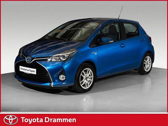 Toyota Yaris 1,5 Hybrid Active S e-CVT  2017, 32905 km, kr 174000,-