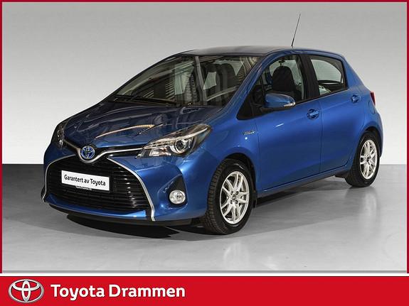 Toyota Yaris 1,5 Hybrid Active S e-CVT  2017, 24125 km, kr 178900,-