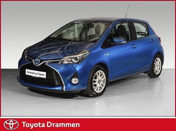 Toyota Yaris 1,5 Hybrid Active S e-CVT  2017, 28485 km, kr 178900,-